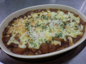 シーフード焼カレー