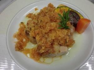 鶏のオーブン焼きローズマリー風味